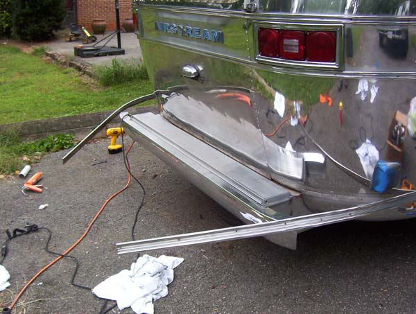 Bumper Area Leak? Maybe? - Airstream Forums