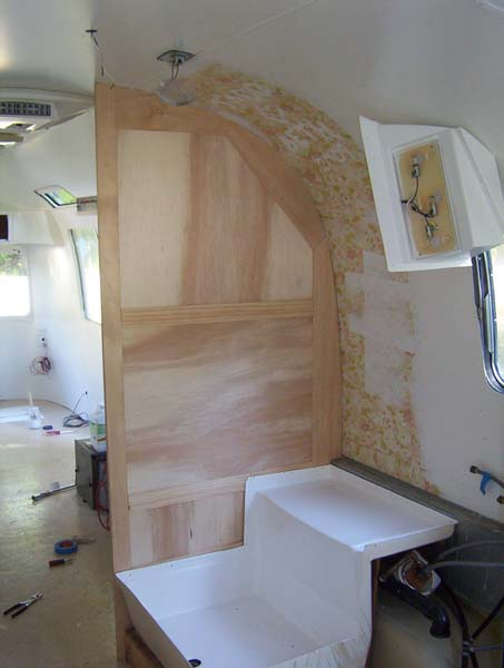 Interior Painted Now On To The Woodworking Airstream Forums Beauteous Airstream Interior Design Painting